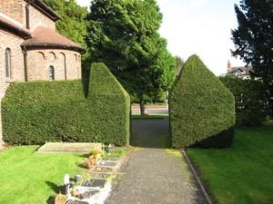 Church and yard